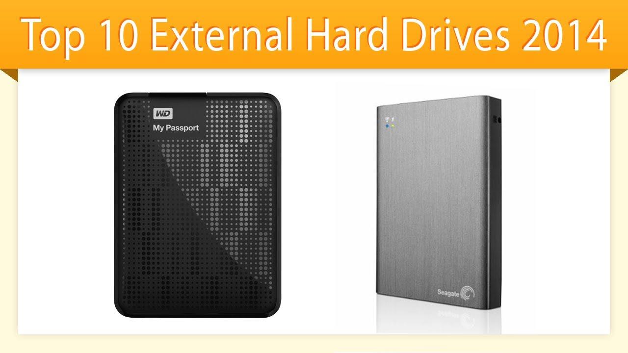 Top 10 External Hard Drives 2014  Best Hd Review  Youtube