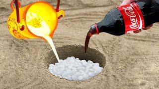 Gambar cover Experiment: Coca Cola vs Mentos vs Lava Undergraund