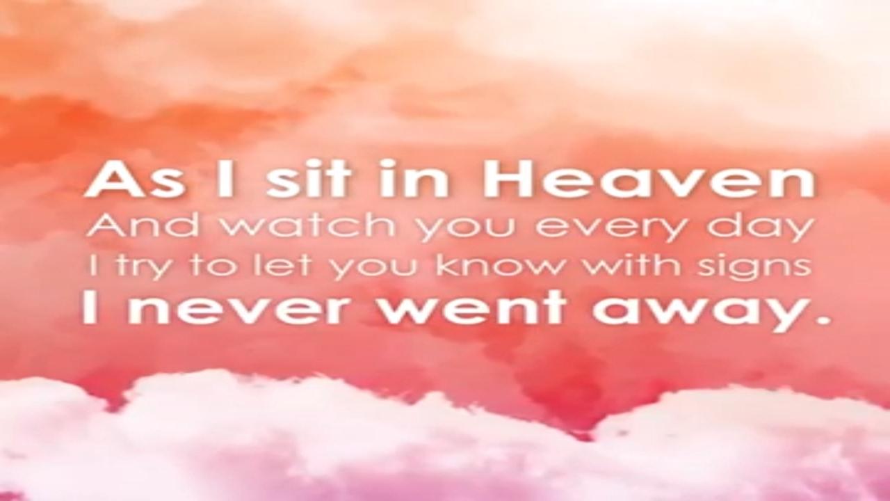As I Sit In Heaven Youtube