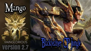 Mango | Blackfeather CP jungle - Vainglory hero gameplay from a pro player
