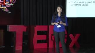 The ultimate intersection of Arts and Science.   AATHMA NIRMALA DIOUS   TEDxYouth@TCHS
