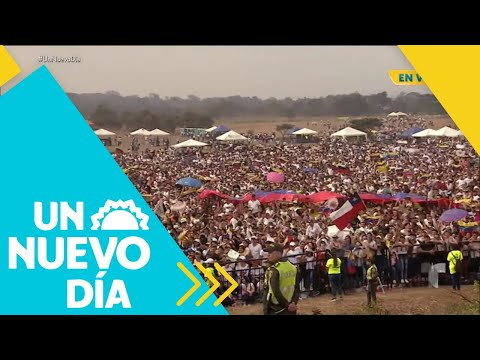 Venezuela Aid Live: ¡Todo listo para el concierto! | Un Nuevo Día | Telemundo