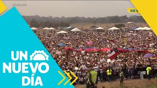 Venezuela Aid Live: ¡Todo listo para el concierto!   Un Nuevo Día   Telemundo