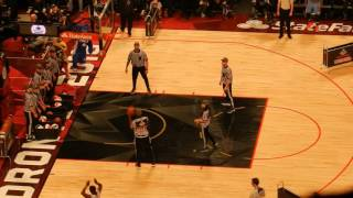 NBA All Star Weekend 2016 Toronto - Kevin Hart vs. Draymond Green 3 Point Contest