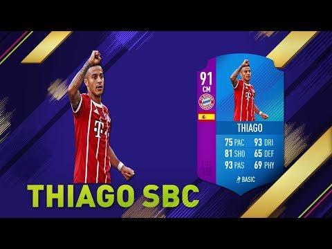 HACER THIAGO SBC BARATO FIFA 18