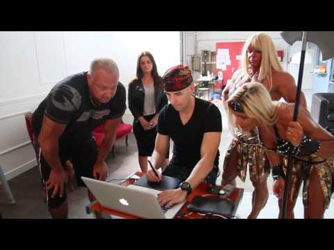 Making Of Protéine Evolution with Maryse Manios