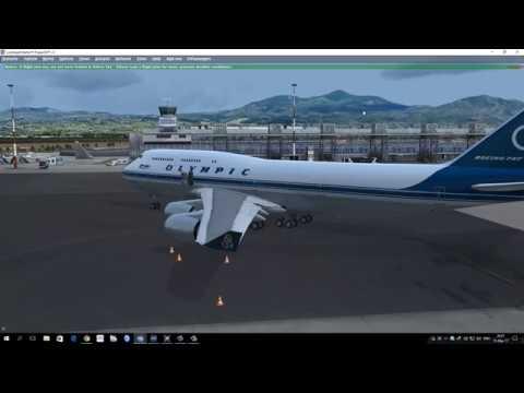 PMDG 747 V3 tutorial in Greek