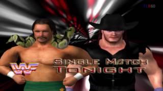 WWF Legends PC WrestleMania The Undertaker matches begin The Streak