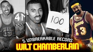 5 NBA RECORDS HELD BY WILT CHAMBERLAIN That Will NEVER BE BROKEN!