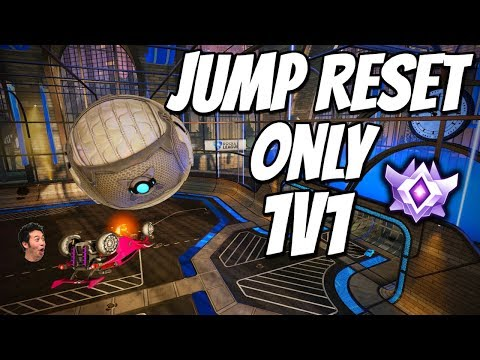 TRYING TO BE EVAMPLE | Jump Reset Only 1v1 (Rocket League Gameplay) thumbnail