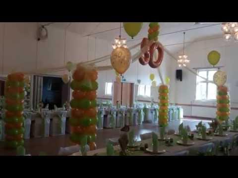 50 års kalas tips FEST DEKORATION 50 ÅRS KALAS   YouTube 50 års kalas tips