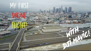 MY FIRST EVER DRONE FLIGHT (DJI MAVIC PRO)