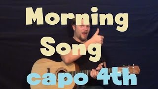 Morning Song (The Avett Brothers) Easy Guitar Lesson How to Play Tutorial
