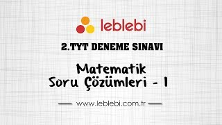 Gambar cover 2.TYT DENEME SINAVI / MATEMATİK - 1
