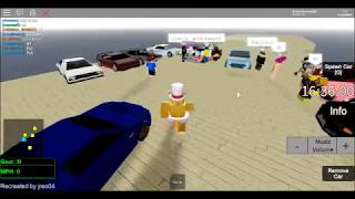 Roblox SRU: The reborn beta 1.3.1.5. car show #2