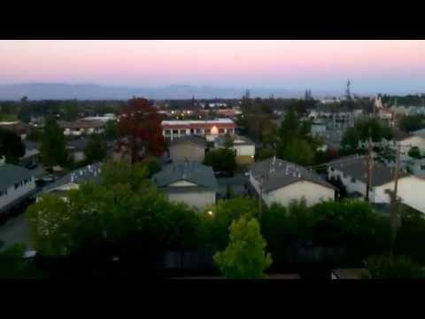 Aerial View of Cupertino, California