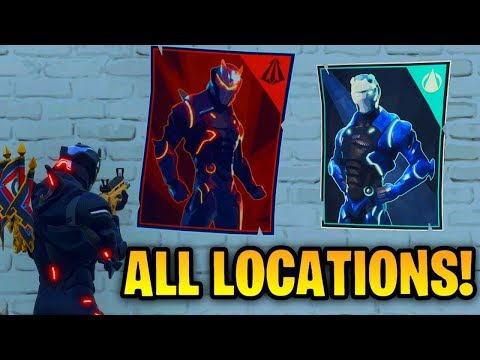 Fortnite Week 6 Challenge Carbide/Omega Posters Locations: Spray Paint Over