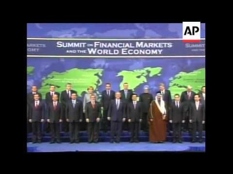 World leaders battling a deepening economic crisis are vowing to cooperate more closely. The vow cam