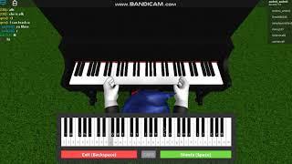 in roblox poti canta la pian