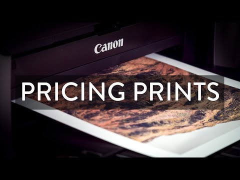 Pricing Your Prints - How I do it...