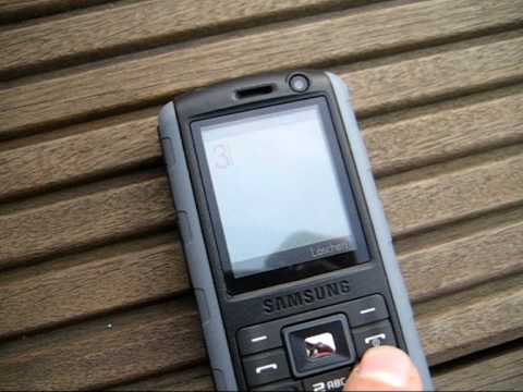 Outdoor-Test Samsung SGH - B2700