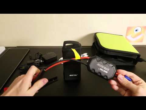 Bestek Jump Starter - The Portable Battery Pack that can Start your Car