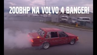 EPIC SOUNDING VOLVO 4 BANGER TEST DRIVE + Q AND A