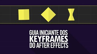 GUIA INICIANTE DOS KEYFRAMES DO AFTER EFFECTS!