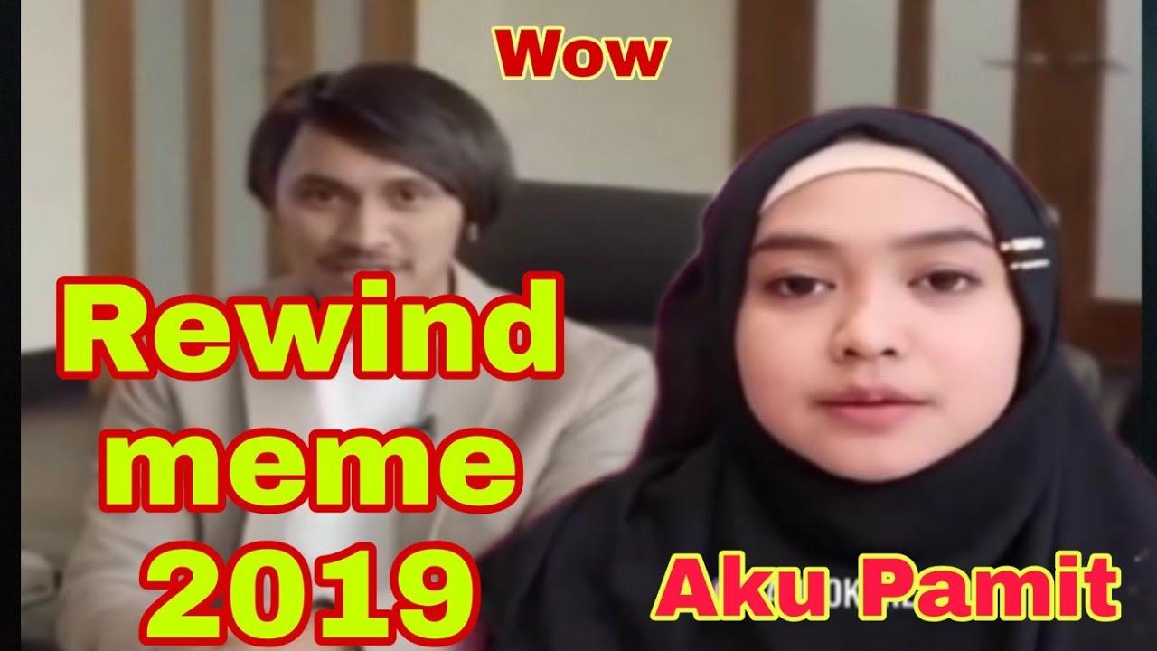 NONTON REWIND MEME 2019 || lucu gila (reaction by me ...