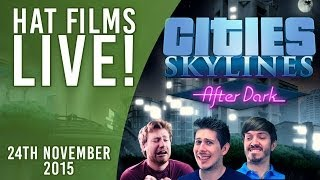 Cities: Skylines - Marvel Re-hash! [Live Archive 24th Nov 2015]