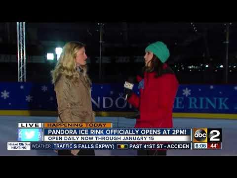 Pandora Ice Rink at Inner Harbor now open
