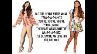 The heart wants what it wants/Big mistake (Mashup w/ Selena Gomez, Ariana Grande & Big Sean)