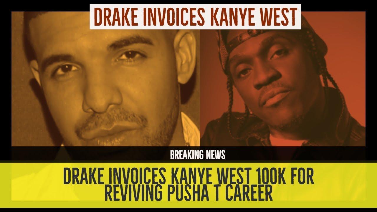Drake INVOICES K To KANYE WEST GOOD Music For Reviving - Drake invoice