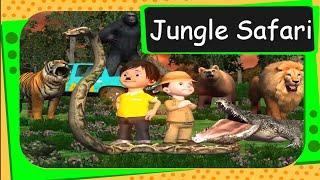 Pre -primary - Wild Animals - Jungle Safari 3D Animation