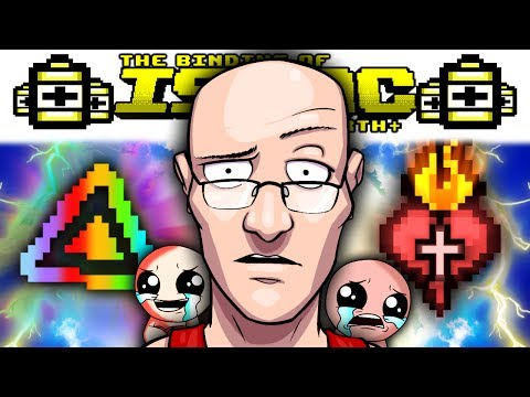 TOG IN ISAAC? GLYPH OF BALANCE + SACRED HEART GAME BREAK | AFTERBIRTH PLUS Gameplay