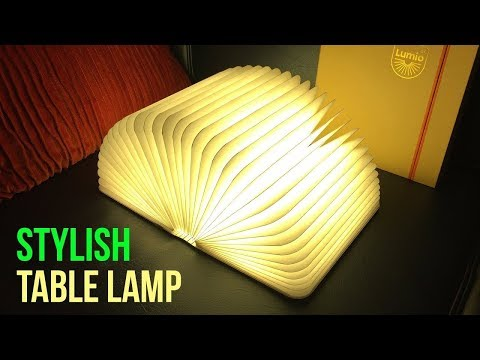 Lumio Book Light Unboxing