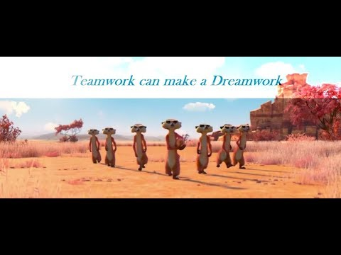 Teamwork can make a Dreamwork -  best ever motivational shor
