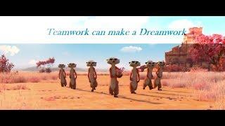 Takım çalışması YouTube'da bir Dreamwork - en iyi motive edici kısa film yapabilirsiniz