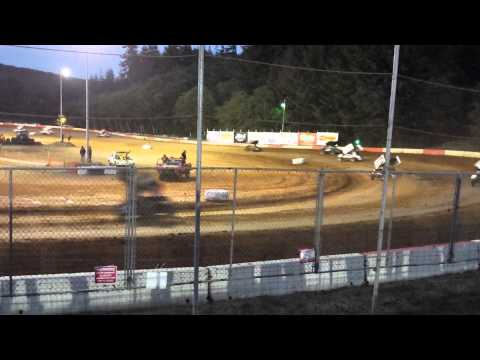 6-30-15 sprint car speedweeks coos bay speedway