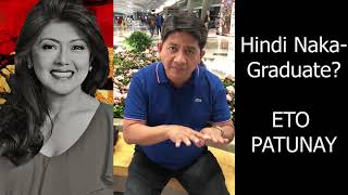 Atty. Gadon Explain everything about IMEE MARCOS Diploma