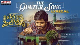 The Guntur Song Lyrical Video  | Middle Class Melodies Songs | Vinod Ananthoju | Sweekar Agasthi