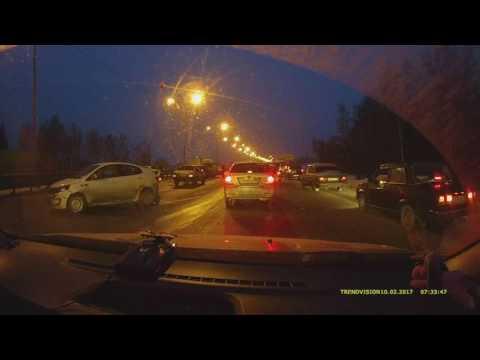 Массовая авария на Симферопольском шоссе