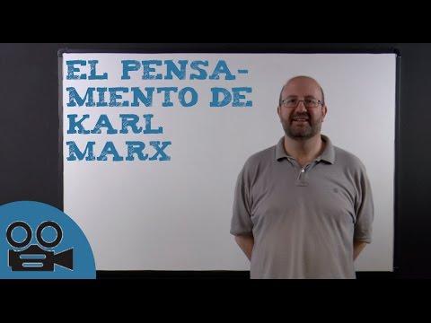El pensamiento de Karl Marx