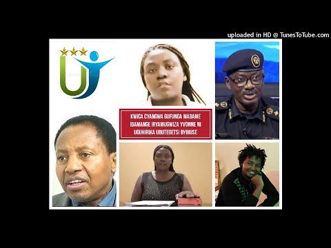 Radio Ubumwe : KWICA CYANGWA GUFUNGA Mme IDAMANGE YVONNE NI UGUHIRIKA UBUTEGETSI BYIHUSE 15 02 21