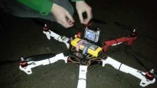 Новая игрушка: гексакоптер DJI F550.