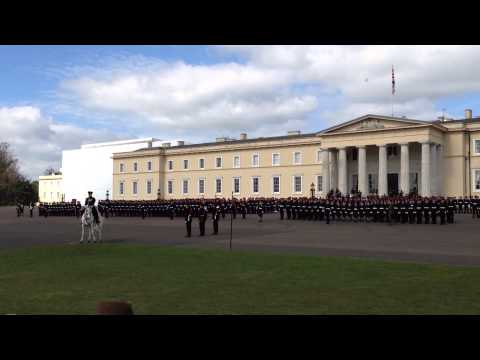 Gangman Style at RMA Sandhurst, performed by the Band of the Brigade of Gurkhas