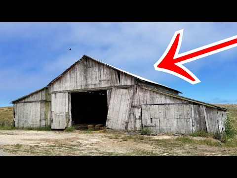 Metal Detecting Old Barn & Springhouse. The Abandoned Lifestyle