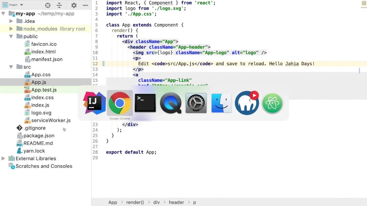 Jahia Days 2018 Live Coding Headless React Single Page Application