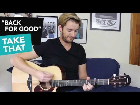 EASY 4 Chord Song - Back For Good - Take That Guitar Tutorial - Easy Beginner Song
