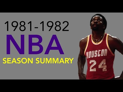 1981-1982 NBA Season Summary